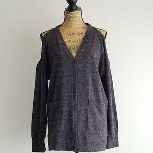 Romeo & Juliet Couture Cold Shoulder Cardigan
